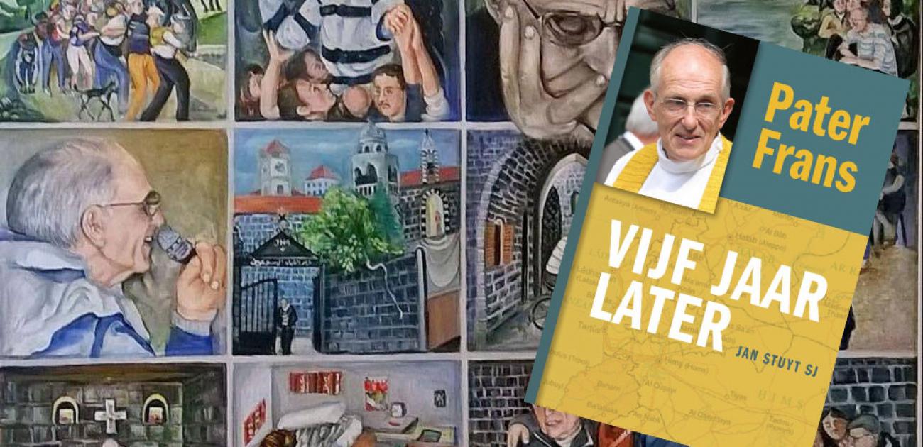 Boek: Pater Frans, vijf jaar later