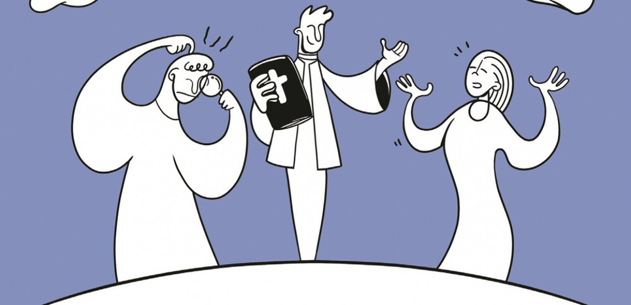 Boekvoorstelling 'Wat deed God voor Hij de wereld schiep?'