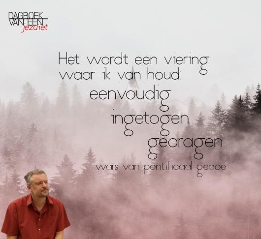 """Dagboek van Bert Daelemans sj: """"Mijn leven heeft iets surrealistisch-gratuit"""" 1"""