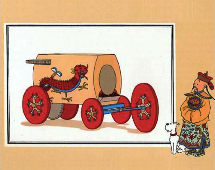 De eerste automobiel 1