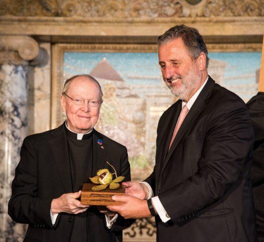 De jezuïet die het gebed uitsprak tijdens de inauguratie van Joe Biden