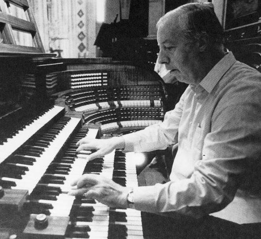 De organist van Japan