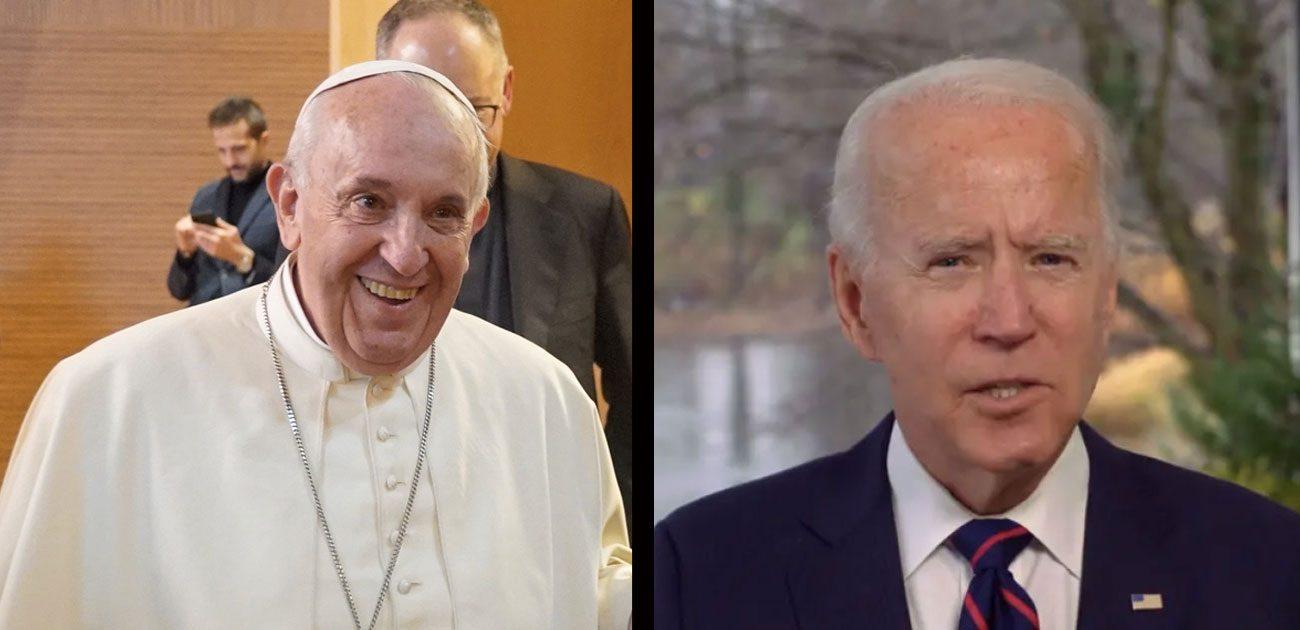 De paus en Joe biden feliciteren Jesuit Refugee Service