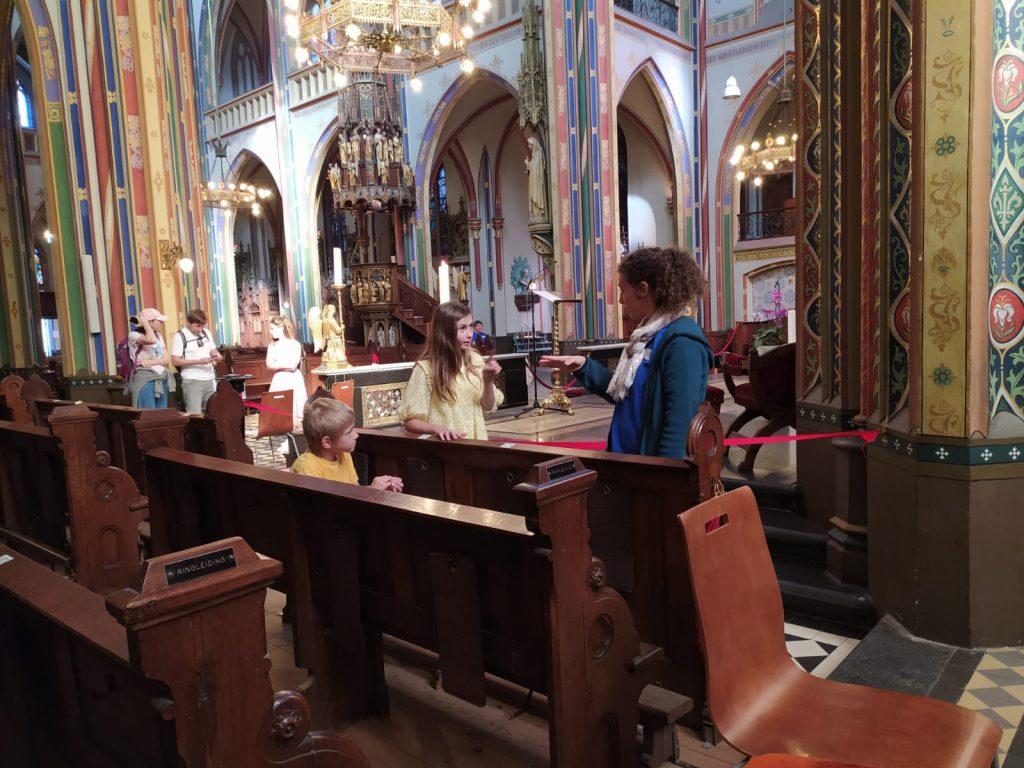 Evangelie verkondigen met gratig rondleidingen in kerken 9