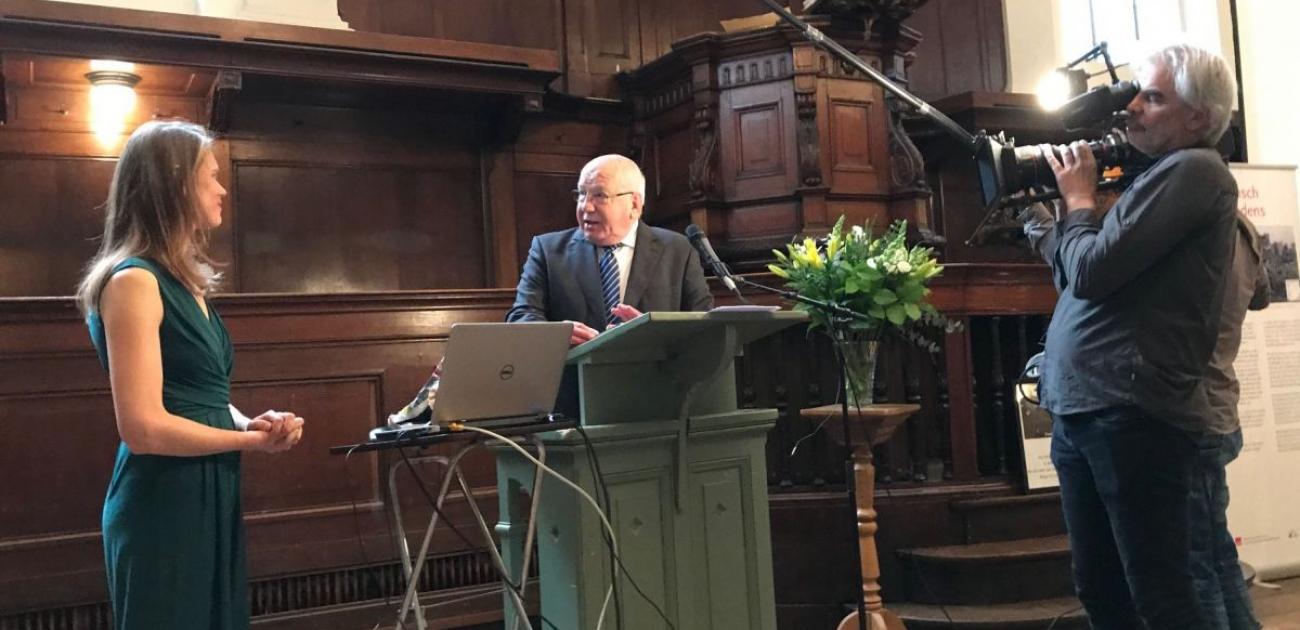 Frans van der Lugt sj herdacht, vijf jaar na zijn dood