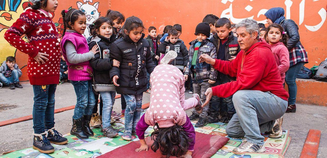 Help JRS in Beiroet weer opbouwen
