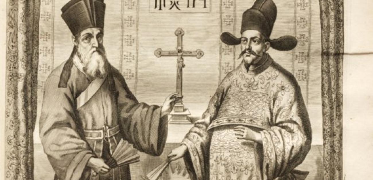 Jezuïeten tussen oost en west, tussen China en Europa
