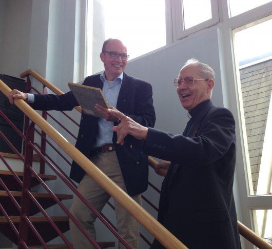 Pater Adolfo Nicolás op bezoek in Nederland