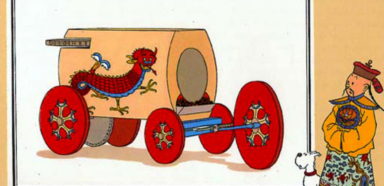 De eerste automobiel