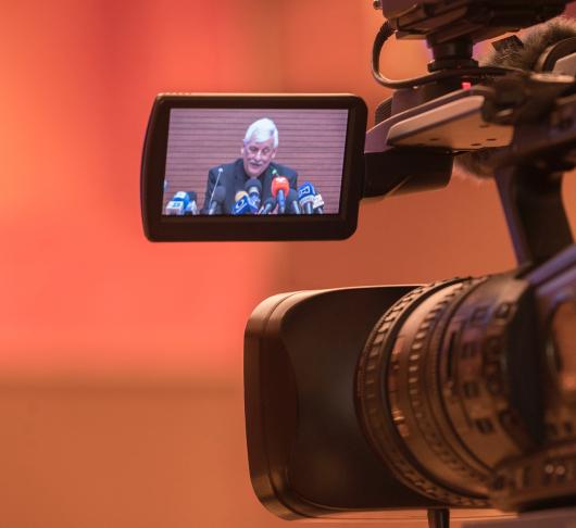 Eerste persconferentie pater Arturo Sosa sj