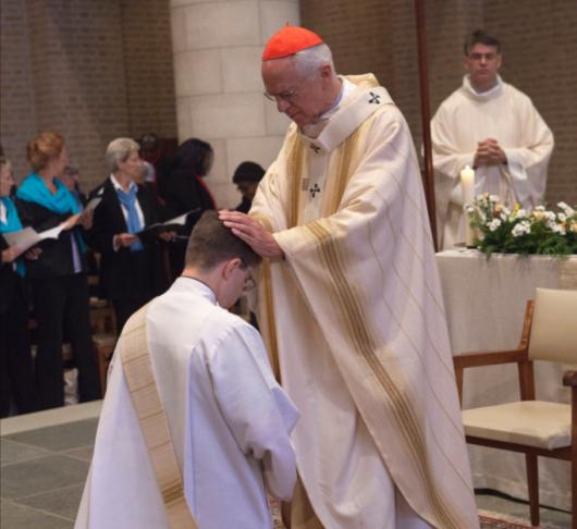 Priesterwijding Wouter Blesgraaf sj