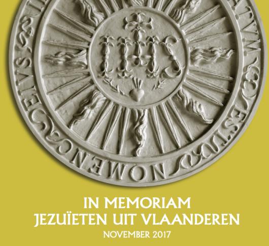 In Memoriam Vlaamse jezuïeten 2016-2017