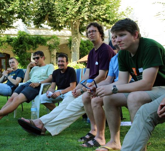 Novicen ontmoeten elkaar in Lyon 2