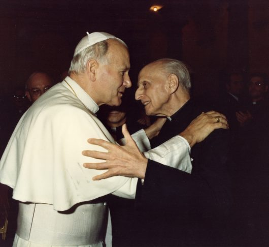 Paus Johannes Paulus II en de jezuïeten