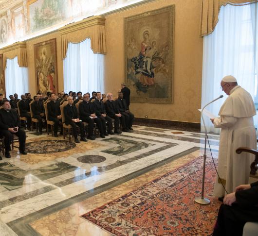 """Paus tegen jezuïeten: """"Wees niet bang voor crisissen."""" 1"""