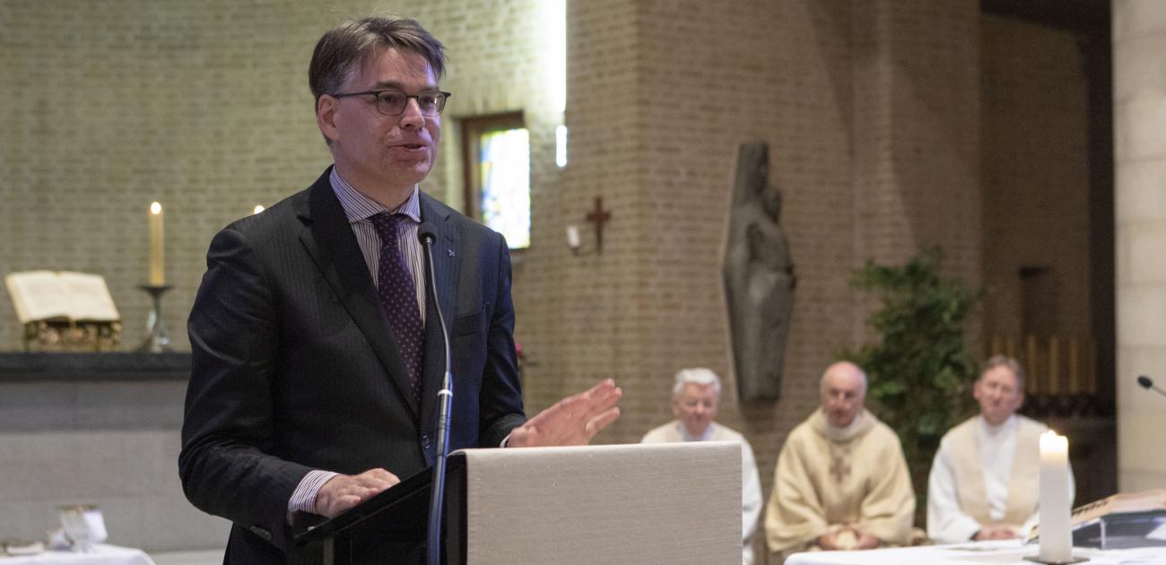 Walter Ceyssens: 'Van hetzelfde niveau als mijn priesterwijding'